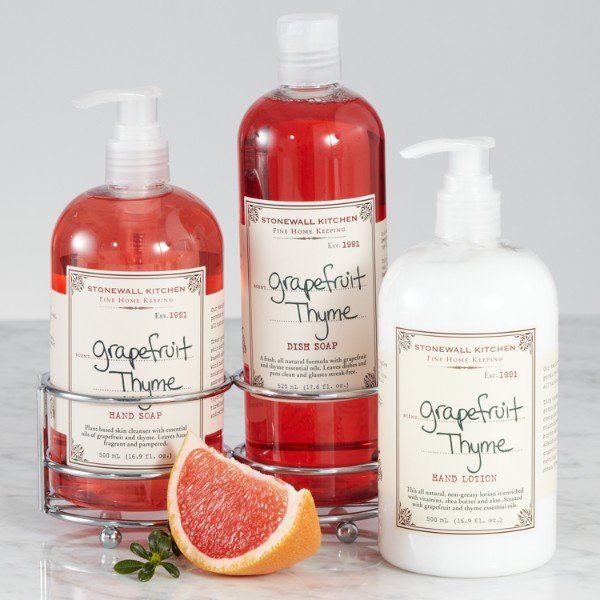 Grapefruit Thyme Lotion Hand Soap And Dish Soap With