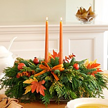 "Save 25% on 20"" Autumn Lights Centerpiece, only $29.99 at ProFlowers"