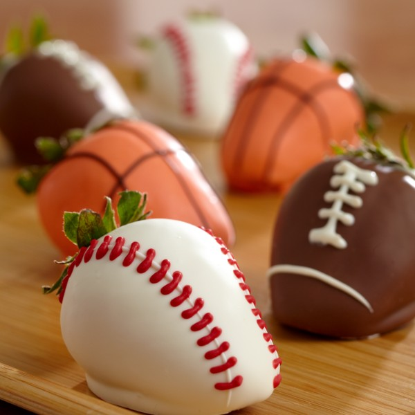 our hand dipped sports strawberries are perfect for any sports ...