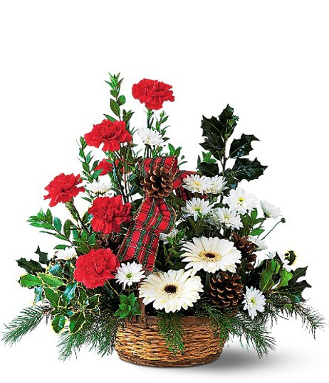 Christmas Joy Basket