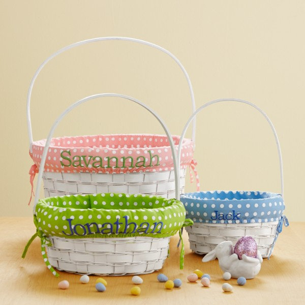 Personalized Easter Baskets For Kids Personalized Easter Basket