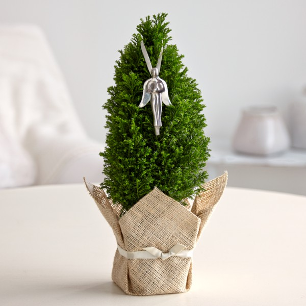 Send Guardian Angel Tree And Other Table Top Christmas